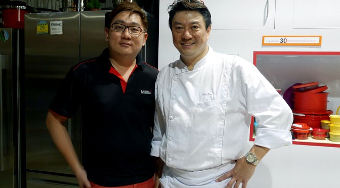30 Minute Cookin' with Celebrity Chef Eric Teo and Panasonic