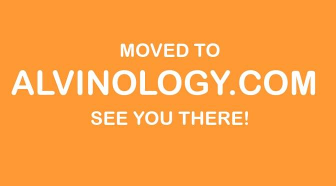 Moved to Alvinology.com